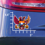 NEW! Arizona Sports Fan Crest, sticker decal die cut vinyl, 5x4.4""