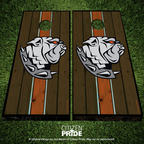 Cleveland Browns Dawg Crest Cornhole Boards, 24x48""