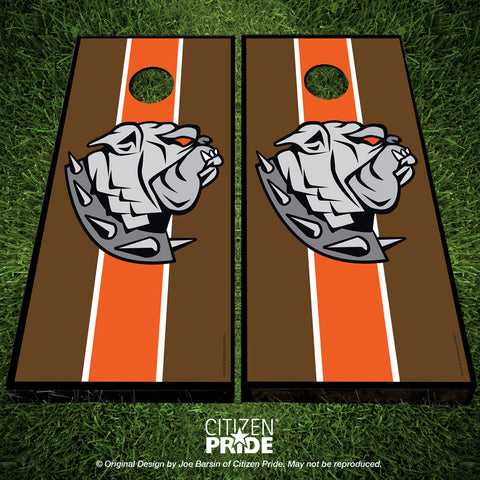 Cleveland Browns Dawg Sports Crest Cornhole Boards & Vinyl Skin Wraps, 24x48""
