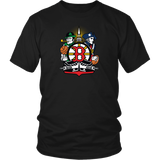 Boston Sports Fan Crest - Short-Sleeve Unisex T-Shirt