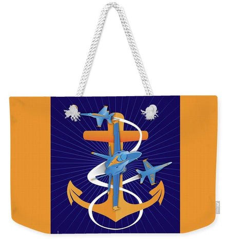 Anchors Aweigh Fouled Anchor - Weekender Tote Bag
