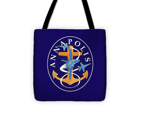Annapolis Aweigh Fouled Anchor - Tote Bag
