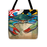 Blue Crab of Maryland - Tote Bag