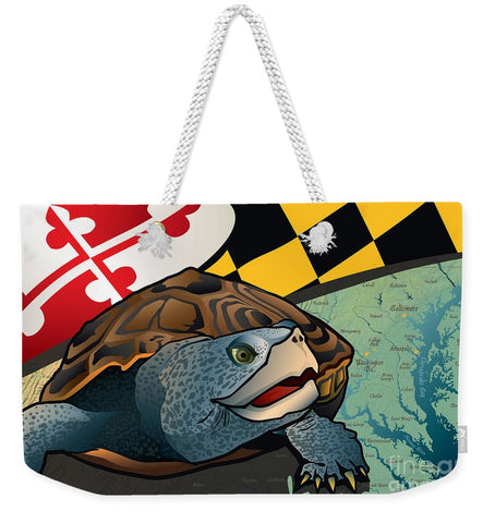 Citizen Terrapin Maryland's Turtle - Weekender Tote Bag