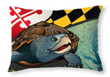 Maryland Terrapin - Throw Pillow