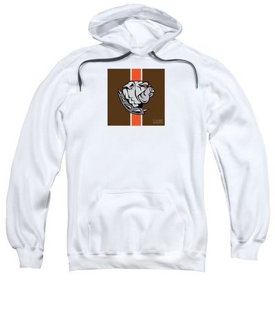 Cleveland Browns Dawg Sports Fan Crest - Sweatshirt