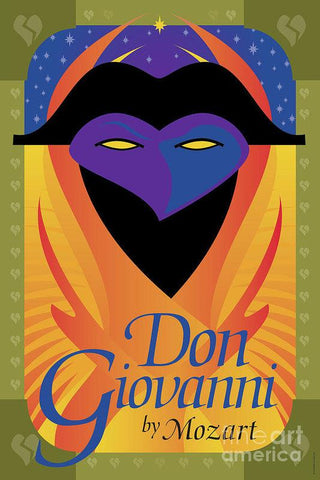 Don Giovanni Opera - Theater Art Print