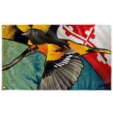 "Maryland Oriole, Large Flag, 60 x 36"" with 2 grommets"