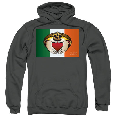 Irish Claddagh Ring - Sweatshirt
