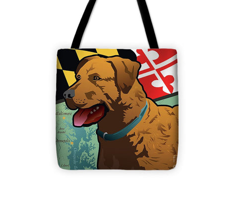 Maryland Chesapeake Bay Retriever  - Tote Bag