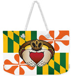 Maryland Irish Claddagh  - Weekender Tote Bag