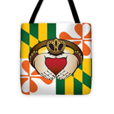Maryland Irish Claddagh - Tote Bag