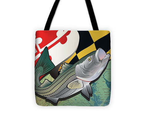 Maryland Rockfish - Tote Bag