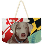 Maryland Silver Lab - Weekender Tote Bag