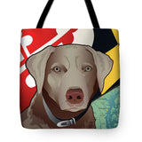 Maryland Silver Lab - Tote Bag