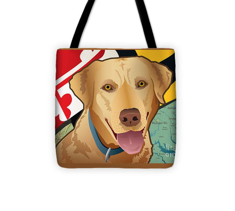Maryland Yellow Lab - Tote Bag