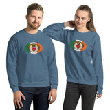 Irish Claddagh Oval Magnet, Unisex Sweatshirt