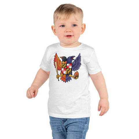 Birdland Baltimore Raven & Oriole Maryland Crest - Kids t-shirt