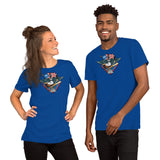 Fly, Philly, Fly! Sports Fan Crest - Short-Sleeve Unisex T-Shirt
