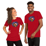 Raven Crab Football Maryland Crest, Short-Sleeve Unisex T-Shirt