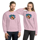 Blue Crab Maryland Crest, Unisex Sweatshirt