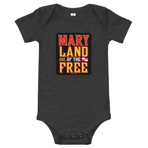 MaryLand of the Free, Baby Onesie