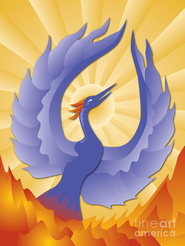 Phoenix Rising - Theater Art Print