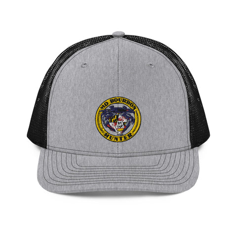 MD Bourbon Hunter 1897, Snapback Trucker Cap