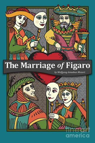 The Marriage of Figaro - Theater Art Print