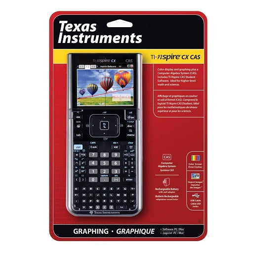 Calculadora Texas Instruments TI-nspire CX CAS a Color original, Ferretrónica