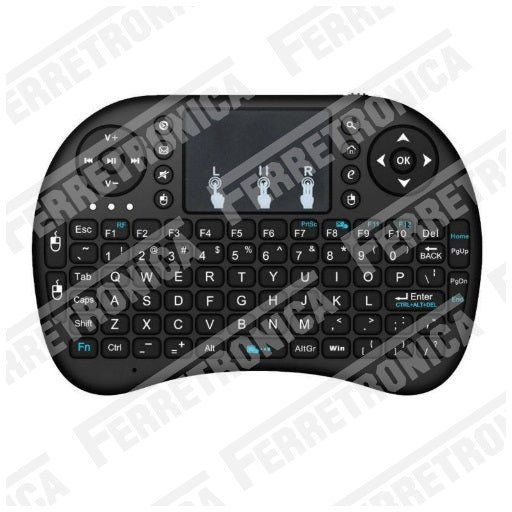 Teclado inalambrico para Raspberry PI - Smart TV - PC por Bluetooth 2.4 Ghz, Ferretrónica