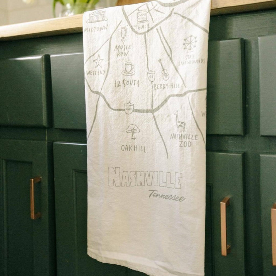 High Fancy Paper | Nashville Tea Towel