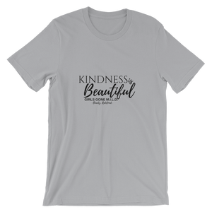 Kindness is Beautiful short sleeve t-shirt-Black Print