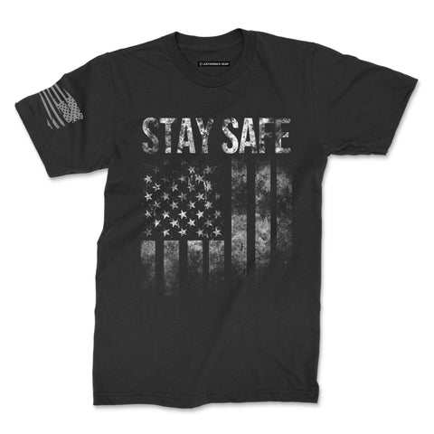 Stay Safe Flag Tee