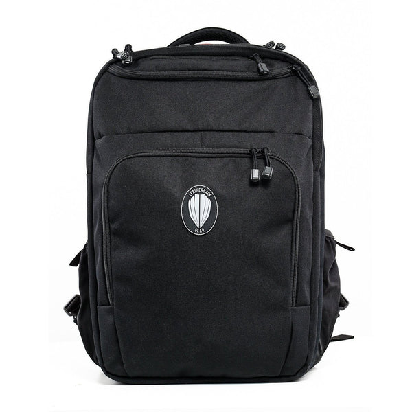 Civilian One Bulletproof Backpack Leatherback Gear Black Two Panels