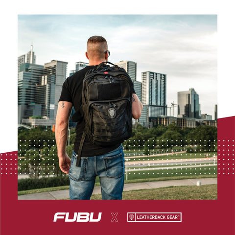 FUBU x Leatherback Gear Tactical One Bulletproof Backpack Leatherback Gear