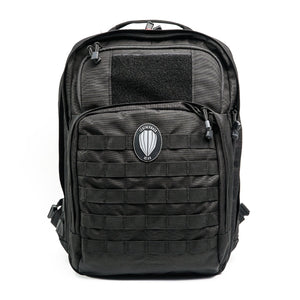 Leatherback Gear Tactical One Backpack - Black Backpack LeatherbackGear