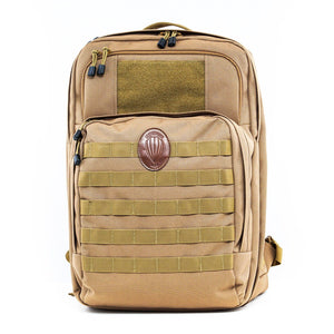Leatherback Gear Tactical One Backpack - Coyote Tan Backpack LeatherbackGear