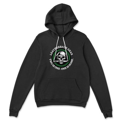 Leatherback Two is One Hooded Sweatshirt Sweatshirts SunFrog-LeatherBackGear