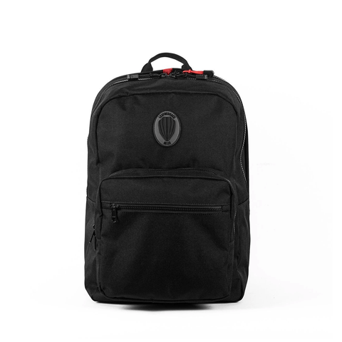 Sport One Jr. Bulletproof Backpack Leatherback Gear Black Two Panels