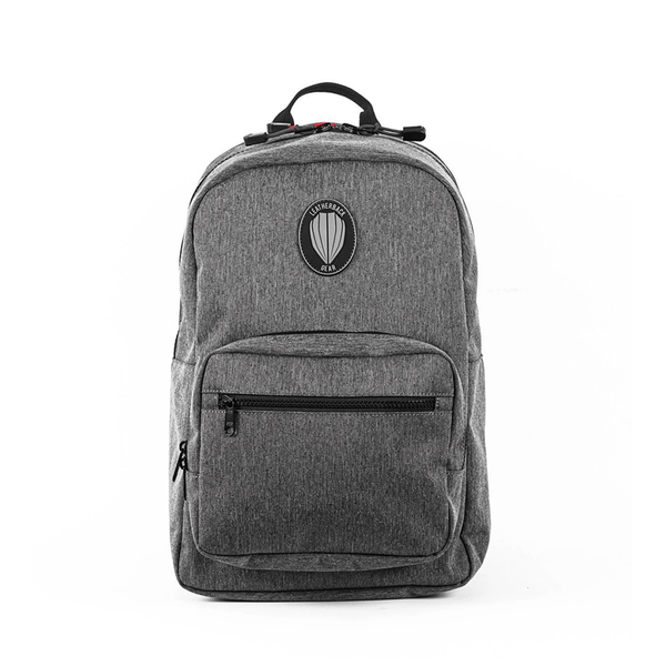 Sport One Jr. Bulletproof Backpack Leatherback Gear Heather Gray Two Panels