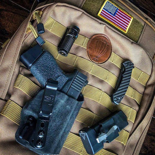 Leatherback Gear Tactical One with Fubu Patch Bulletproof Backpack