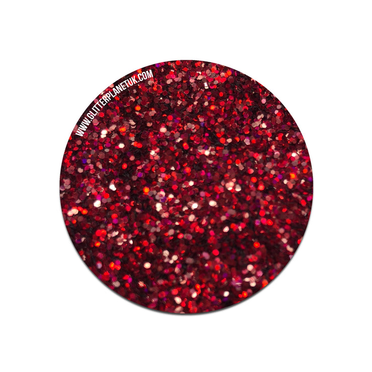 Dazzle Red - Loose Glitter 5g
