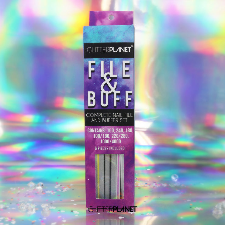 File & Buff Complete 6pcs Set