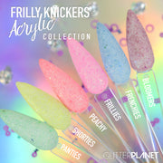 Frilly Knickers Acrylic Colour Collection - 6pcs