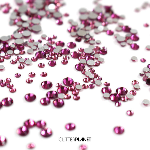 Fuchsia Mixed Crystals