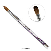 Galaxy Aqua Acrylic Nail Brush  #14
