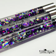 Galaxy Aqua Acrylic Nail Brush #8
