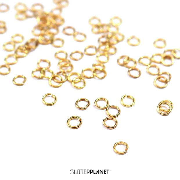 Gold Link Rings 5mm