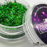 Green Holographic Tinsel